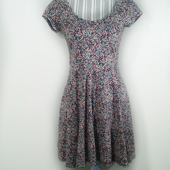 54b28a603f045 Anthropologie Dresses & Skirts - Kimchi Blue fit and flare floral dress  size Medium